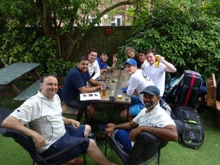 Was it a win then? SBCC South Bank CC Cricket Club London