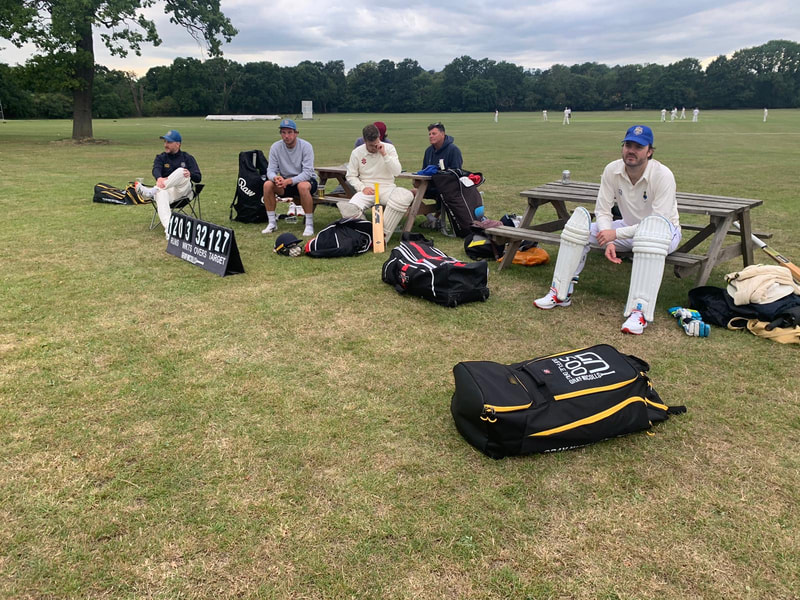 padded up ready to go SBCC South Bank CC Cricket Club London